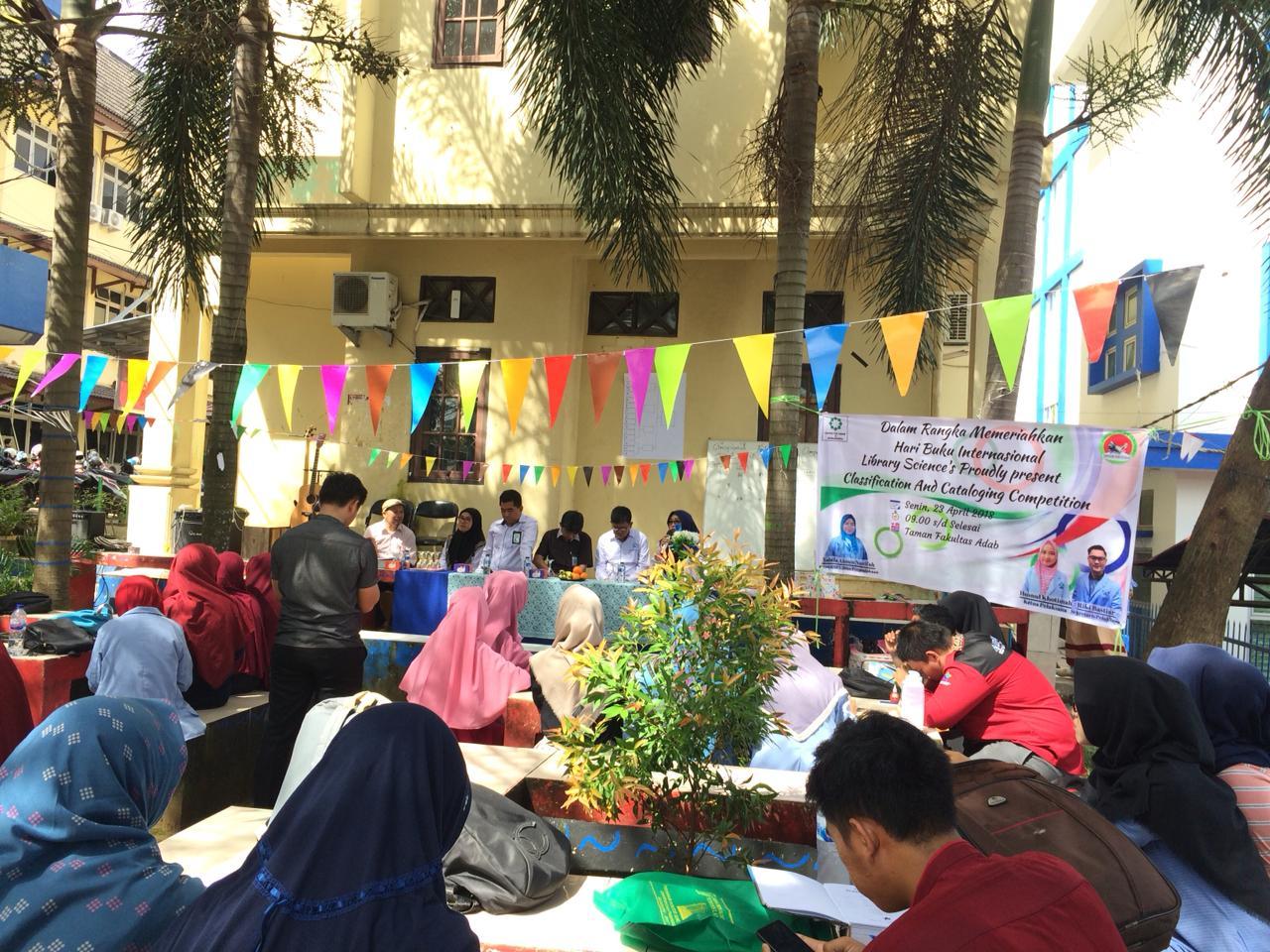 HMPS Ilmu Perpustakaan FAHUM UIN Raden Fatah Peringati Hari Buku international